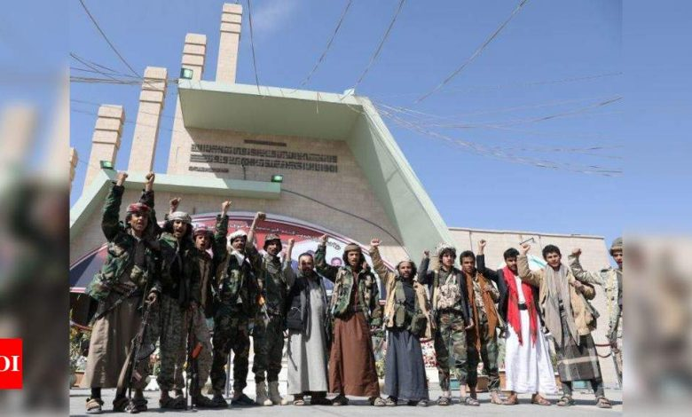 US plans to designate Yemen's Houthi movement as foreign terrorist group - Times of India