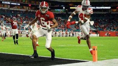 Unstoppable DeVonta Smith has Giants great, LeBron James drooling
