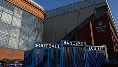 Three charged after fireworks and flares setoffat Ibrox followingOld Firm clash