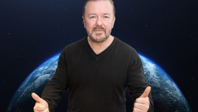 Ricky Gervais turns down chance to be first stand-up comic in space