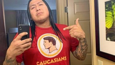This 'Caucasians' T-shirt is going viral for mocking NFL's Redskins