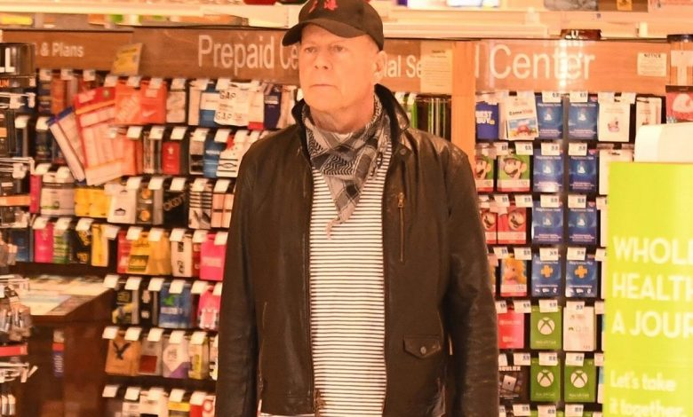 Bruce Willis asked to leave store for 'refusing' to wear a mask