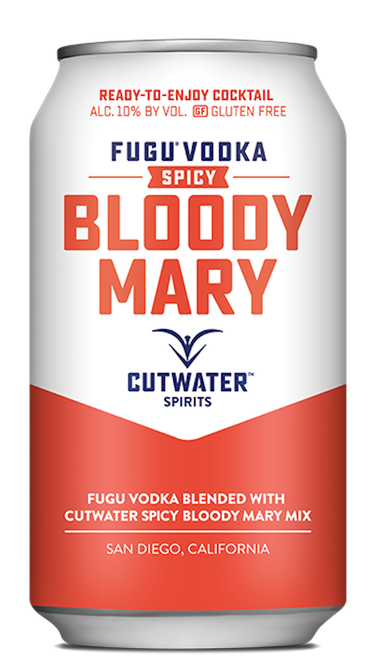 STYLECASTER | 13 Canned Cocktails for Summer Days When Beer Won't Cut It | Cutwater Spirits Spicy Bloody Mary