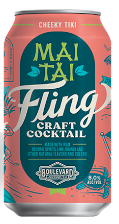 STYLECASTER | 13 Canned Cocktails for Summer Days When Beer Won't Cut It | Boulevard Brewing Co. Fling Mai Tai