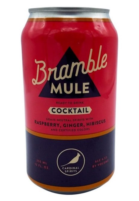 STYLECASTER | 13 Canned Cocktails for Summer Days When Beer Won't Cut It | Cardinal Spirits Bramble Mule