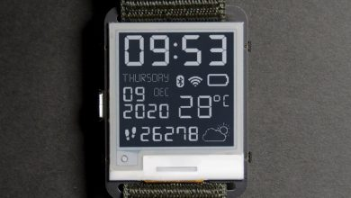 Hack together your own e-paper smartwatch with this $50 open-source kit