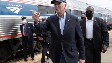 Biden Forgoing Amtrak Trip to Washington Over Security Fears
