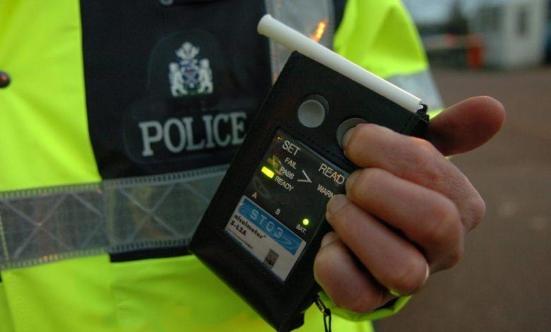 More than 500 arrested over festive drink and drug driving inScotland