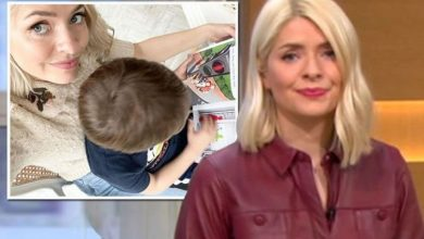 Holly Willoughby shares rare snap of son Chester after opening up on struggles at home