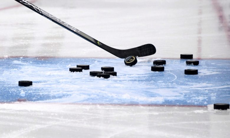 NHL gives up on 'different puck' for now