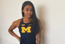 Michigan's Ziyah Holman goes viral with unbelievable track & field comeback