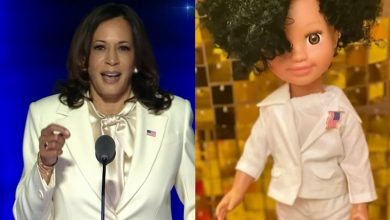 Brockton Doll Maker Finds Inspiration in Vice President Kamala Harris