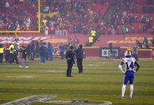 'Frustrated' Stefon Diggs watched as Chiefs celebrated Super Bowl 2021 berth