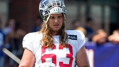 Ex-Giant Chad Wheeler accused of strangling woman unconscious