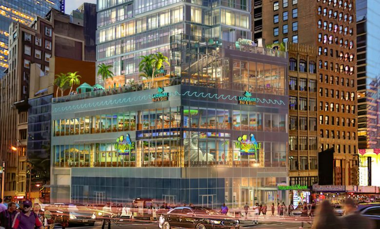 Times Square Margaritaville with outdoor pool to open amid COVID-19 pandemic