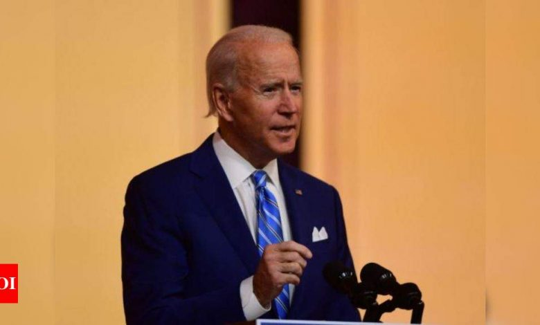 Biden pledge to reopen PLO mission in Washington faces legal hurdles - Times of India
