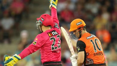 James Vince's unbeaten 98 earns Sydney Sixers BBL final at the SCG