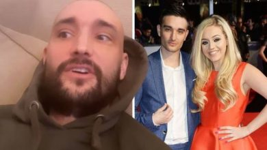 Tom Parker: The Wanted star says wife helped him in 'darkest place' amid cancer battle