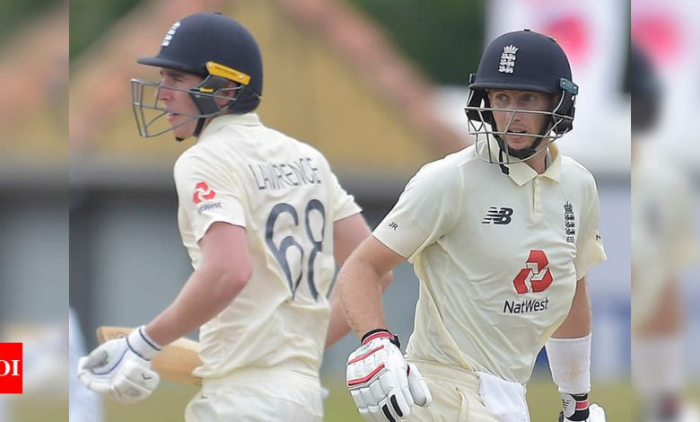 1st Test: Root masterclass helps England dominate rain-hit day two vs Sri Lanka   Cricket News - Times of India