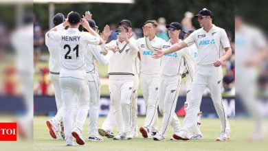 2nd Test: New Zealand rout Pakistan to seal top ranking | Cricket News - Times of India