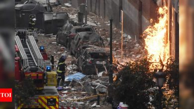3 killed in Madrid explosion - Times of India