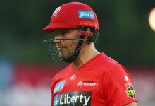Aaron Finch returns to the top in bid for positive end to 'difficult' BBL