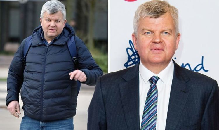 Adrian Chiles, 53, slammed by partner for still taking washing and ironing to mum's house