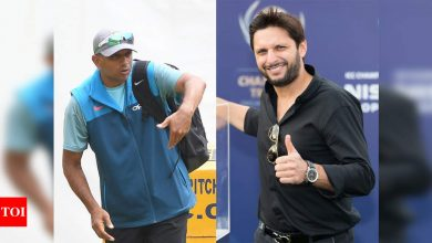 Afridi asks former Pakistan greats to follow Dravid's footsteps in grooming young talents | Cricket News - Times of India