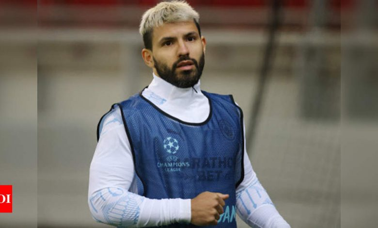 Aguero self-isolating after contracting coronavirus   Football News - Times of India