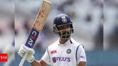 Ajinkya Rahane:  How planning his training sessions helped Ajinkya Rahane for the challenge in Australia | Cricket News - Times of India