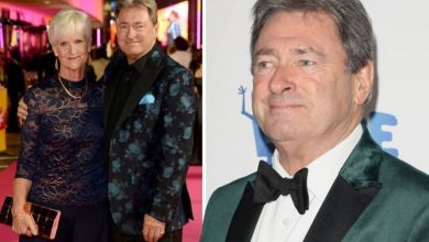 Alan Titchmarsh's wife worried about his TV workload as he'd 'rather wear out than rust'