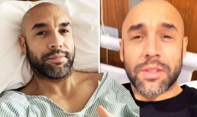 Alex Beresford addresses GMB absence from hospital bed after operation 'Pain incoming'