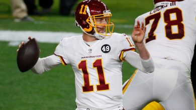 Alex Smith cleared to start for Washington in NFC East decider