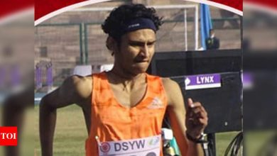 Amit Khatri rewrites national U-20 record in 10,000m race walk | More sports News - Times of India