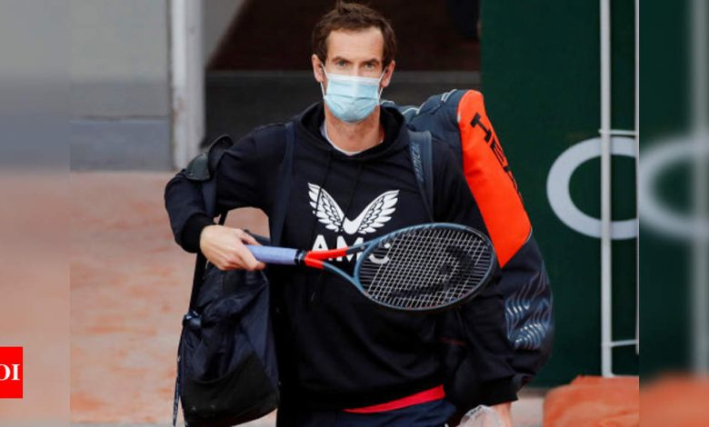 Andy Murray tests positive for COVID-19: Report | Tennis News - Times of India