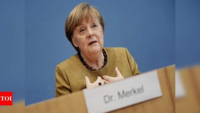 Angela Merkel sees 'much broader scope' for cooperation with Biden - Times of India