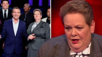 Anne Hegerty apologised to The Chase co-stars for 'taking their money' after joining show