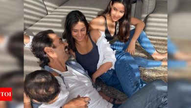 Arjun Rampal pens a heartfelt note for daughter Mahikaa on her 19th birthday; Gabriella Demetriades is all hearts - Times of India