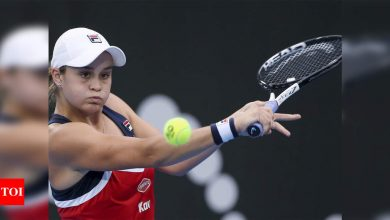 Ash Barty itching to get started at Australian Open | Tennis News - Times of India