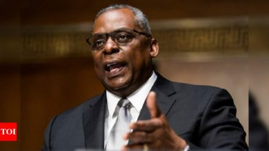 Austin wins Senate confirmation as 1st Black Pentagon chief - Times of India