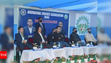 BCCI secretary Jay Shah visits Sikkim and Arunachal, assures help to northeastern states | Cricket News - Times of India
