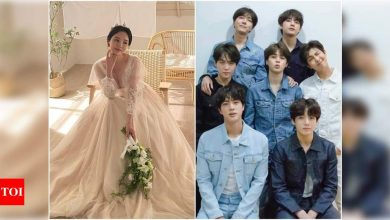 BTS member J-Hope's sister shares a series of mesmerising pictures from her pre-wedding photoshoot - Times of India