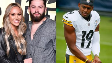 Baker Mayfield's wife, Emily Wilkinson, trolls JuJu Smith-Schuster after Browns win