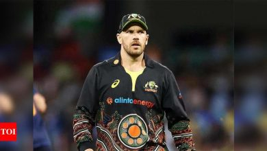 Being locked up for months in bio-bubble is unsustainable: Aaron Finch | Cricket News - Times of India