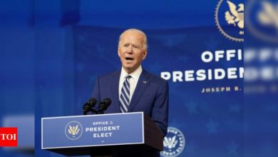 Biden blasts Trump for 'whining and complaining' about election results - Times of India