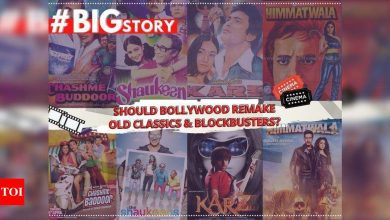#BigStory: Should Bollywood remake old classics and blockbusters? - Times of India