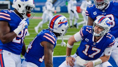 Bills hold off Colts rally for first playoff win in 25 years
