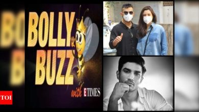 Bolly Buzz: Anushka Sharma and Virat Kohli's first appearance after welcoming their baby girl; Celebs remember Sushant Singh Rajput on his birth anniversary - Times of India ►