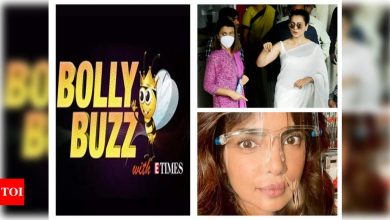 Bolly Buzz: Kangana Ranaut arrives at Bandra Police station to record her statement, Priyanka Chopra flouts COVID-19 lockdown rules in London, Shilpa Shirodkar receives COVID-19 vaccine - Times of India ►