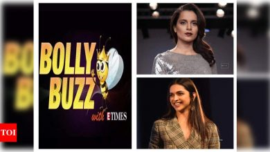 Bolly Buzz: Kangana Ranaut's war of words with Diljit Dosanjh, FIR filed against Arbaaz and Sohail Khan, Deepika Padukone celebrates her 35th birthday - Times of India ►